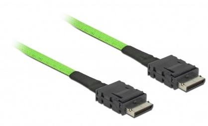Cablu OCuLink PCIe SFF-8611 la OCuLink SFF-8611 1m, Delock 85214