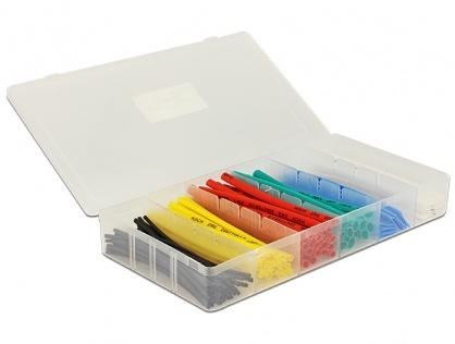 Tuburi termocontractabile colorate 100 buc/set, Delock 86264