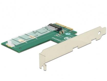 PCI Express la 1 x NVMe M.2 Key M cross format, Delock 89561
