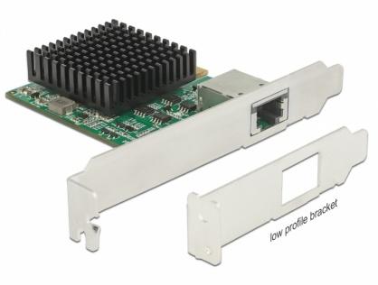 PCI Express la 1 x 10 Gigabit LAN NBASE-T RJ45, Delock 89587