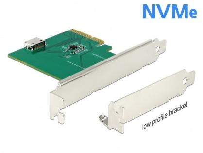 PCI Express la un port intern OCuLink SFF-8612 NVMe 1.2, Delock 90307
