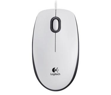 Mouse USB M100 Alb, Logitech