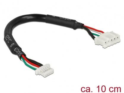 Cablu 5 pini jack ACES 87214 - 0500 la 5 pini plug JST PHR-5 10cm, Delock 95945