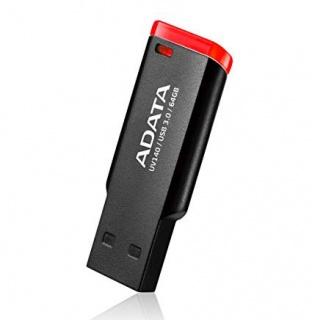 Stick USB 3.0 64GB ADATA UV140 Black & Red