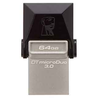Stick USB 3.0 64GB KINGSTON DATA TRAVELER Micro Duo OTG, DTDUO3/64GB