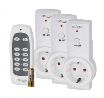 Set 3 prize inteligente wireless 3 canale + telecomanda, Gembird EG-SSWS3-01