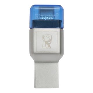 Cititor de carduri USB 3.1-C la microSD/SDHC/SDXC UHS-I, Kingston FCR-ML3C
