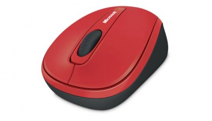 Mouse wireless Mobile 3500 Rosu, Microsoft