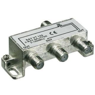 Splitter coaxial (antena tv) 3 porturi 5-1000 MHz, 67020