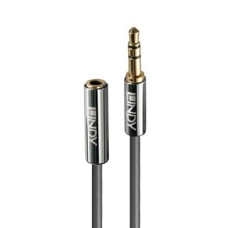 Cablu prelungitor audio jack stereo 3.5mm CROMO Line T-M 5m, Lindy L35330