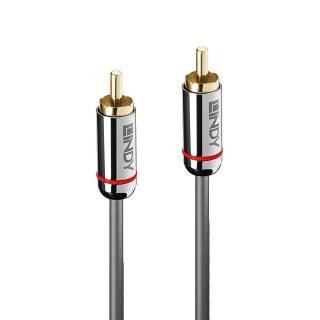 Cablu audio Digital Coaxial 2m T-T Cromo Line, Lindy L35340