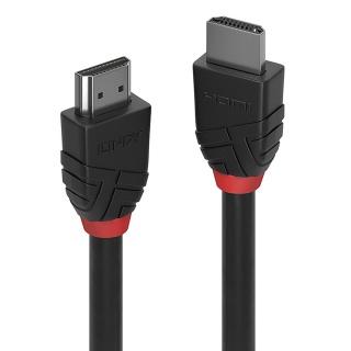 Cablu HDMI v2.0 Black Line T-T 0.5m, Lindy L36470