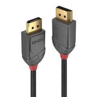 Cablu Displayport 8K / 4K@160Hz v1.4 T-T 0.5m Anthra Line, Lindy L36480