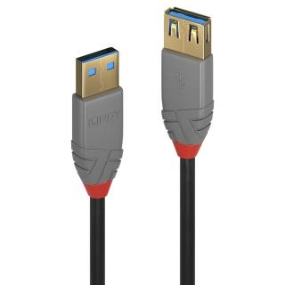 Cablu prelungitor USB 3.0 T-M 3m Anthra Line, Lindy L36763
