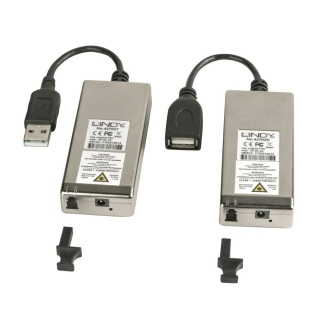 Extender USB 2.0 200m prin fibra optica LC, Lindy L42702