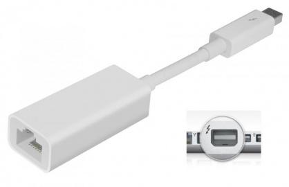 Adaptor Thunderbolt la Gigabit LAN, Apple MD463ZM/A