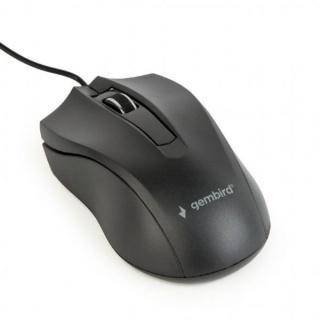 Mouse optic USB Negru, Gembird MUS-3B-01