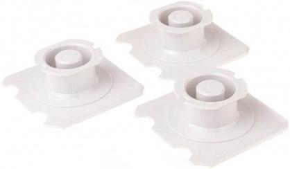 Set 3 bucati suporti pentru montare prelungitor PowerCube, Allocacoc