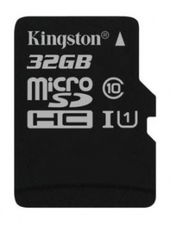 Card de memorie micro SDHC Canvas Select 32GB clasa 10, Kingston SDCS/32GBSP