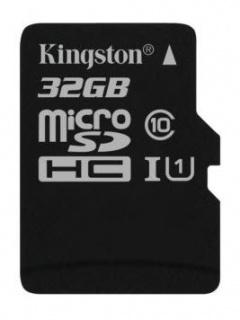 Card de memorie micro SDHC Canvas Select 32GB clasa 10, Kingston SDCS/32GBSP