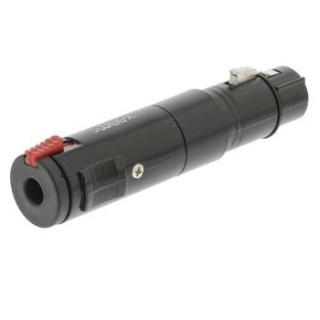 Adaptor XLR 3 pini la jack 6.3mm M-M Negru, SWEEX SWOP15944B