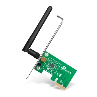 Placa retea Wireless PCI Express 150Mbps, TP-LINK TL-WN781ND