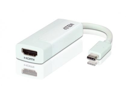 Adaptor USB-C la HDMI 4K T-M Alb, ATEN UC3008