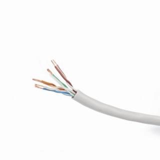 Rola cablu de retea UTP RJ45 cat 5e 100m CCA litat, Gembird UPC-5004E-L/100