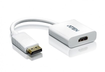 Adaptor Displayport la HDMI T-M Alb, ATEN VC985