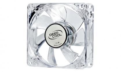 Cooler carcasa 80mm LED albastru, DeepCool Xfan 80L
