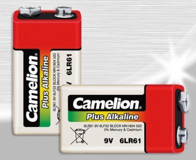 Baterie Plus Alkaline Camelion 9V
