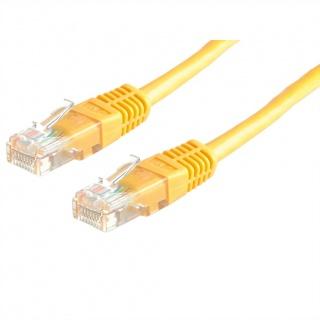 Cablu de retea RJ45 MYCON UTP Cat.6 5m Galben, CON1562