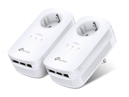 Kit 2 Adaptoare Powerline AV1200 cu 3 porturi Gigabit si Passthrough TL-PA8030PKIT
