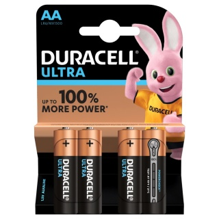 Set 4 buc baterii AA LR6 Duracell Ultra Alkaline