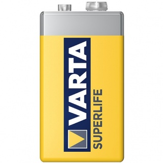 Baterie Varta 9V Superlife Zinc-Carbon