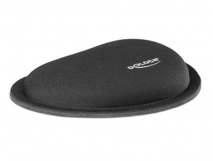 Suport pentru incheietura mainii pentru mouse Negru, Delock 12602