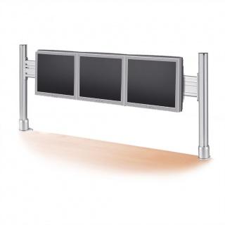 Suport pentru 1x3 monitoare LCD 56cm, Roline 17.03.1163