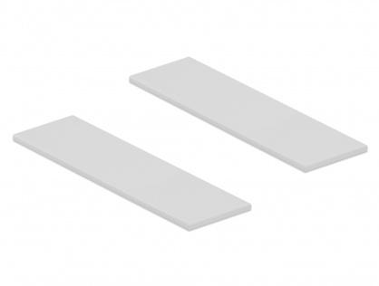 Set 2 bucati pad termic pentru module M.2 SSD, Delock 18287