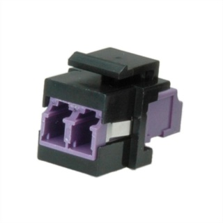 Keystone fibra optica LC-LC OM4 duplex multimode, Roline 21.17.0002