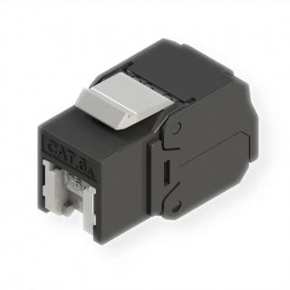 Keystone RJ45 cat 6A UTP tool-free, Roline 21.17.0320
