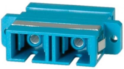 Adaptor fibra optica SC-SC Duplex OS2, Value 21.99.0657
