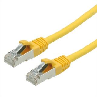 Cablu retea SFTP Value Cat.6 galben, LSOH, 1m, 21.99.1232