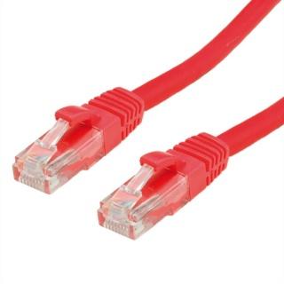 Cablu de retea UTP cat 6A 0.3m Rosu, Value 21.99.1424