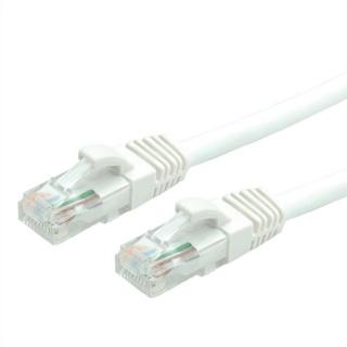 Cablu de retea UTP cat 6A 0.3m Alb, Value 21.99.1474