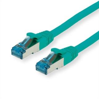Cablu de retea SFTP cat 6A 0.3m Verde, Value 21.99.1944
