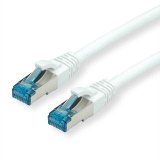 Cablu de retea SFTP cat 6A 0.3m Alb, Value 21.99.1974