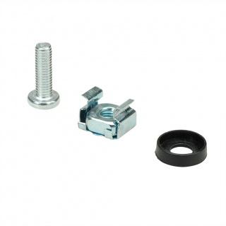 "Set 100 buc suruburi M5 montare rack/cabinet/dispozitive 19"", Value 26.99.0001"