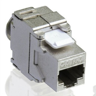 Keystone modular Value Cat.6a RJ-45 ecranat, 26.99.0366