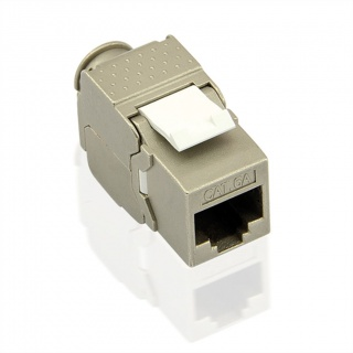 Keystone RJ45 toolfree Cat 6A ecranata, Value 26.99.0375