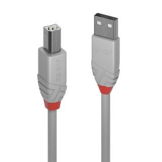 Cablu USB-A la USB-B de imprimanta Anthra Line 1m, Lindy L36687